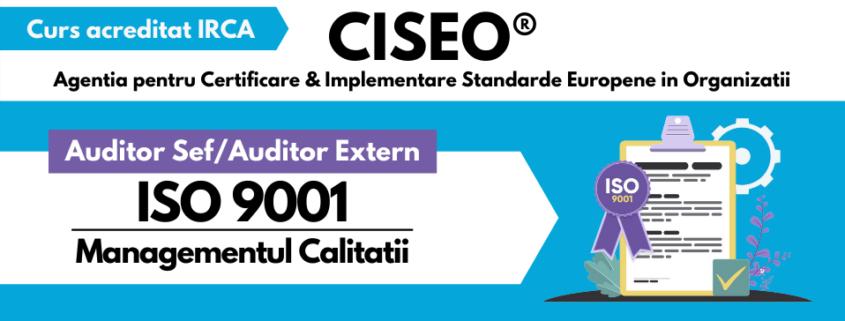AUDITOR EXTERN ISO 9001 IRCA