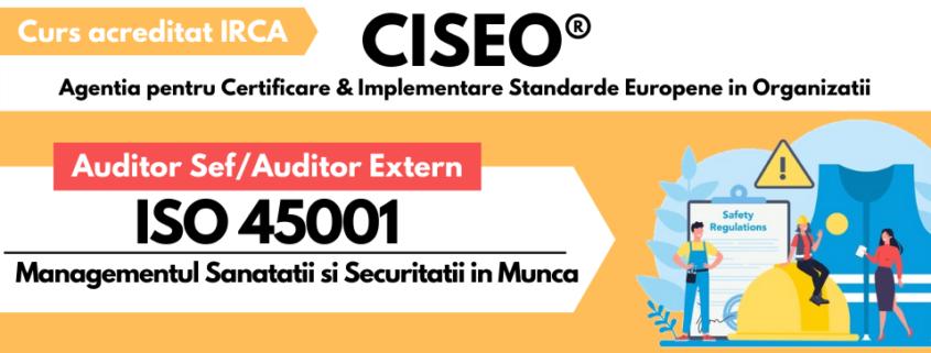 AUDITOR EXTERN ISO 45001 IRCA