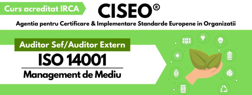 auditor extern ISO 14001 IRCA