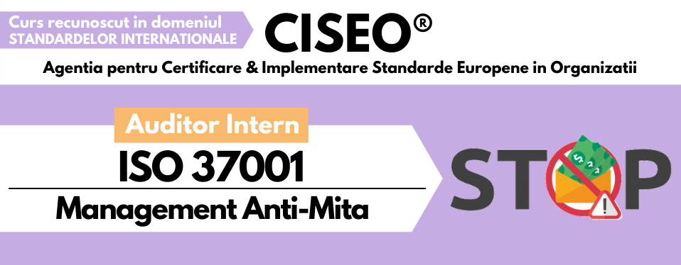Auditor Intern Management Anti-Mita ISO 37001