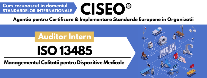 auditor intern ISO 13485