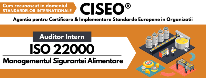 auditor intern ISO 22000