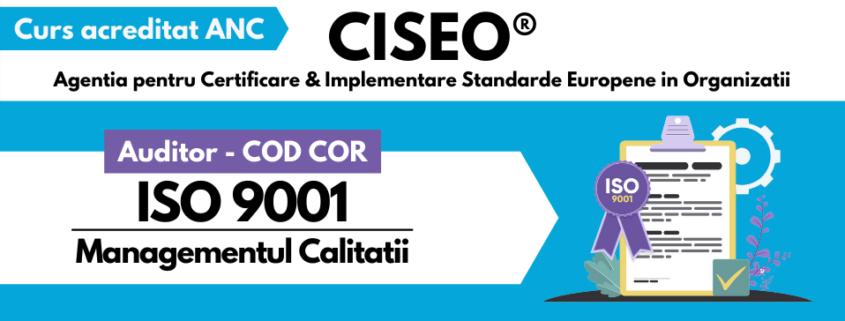 AUDITOR COD COR ANC ISO 9001