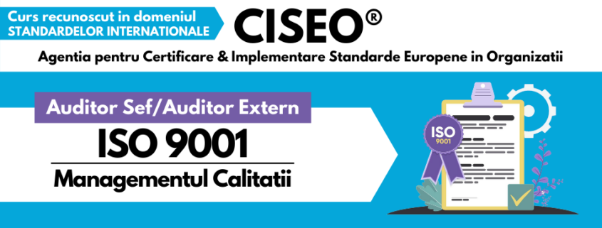 AUDITOR EXTERN ISO 9001