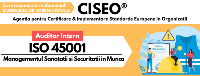 AUDITOR INTERN ISO 45001
