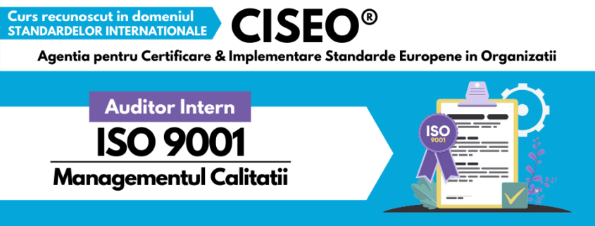 AUDITOR INTERN ISO 9001