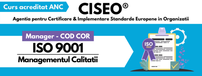 MANAGER COD COR ISO 9001