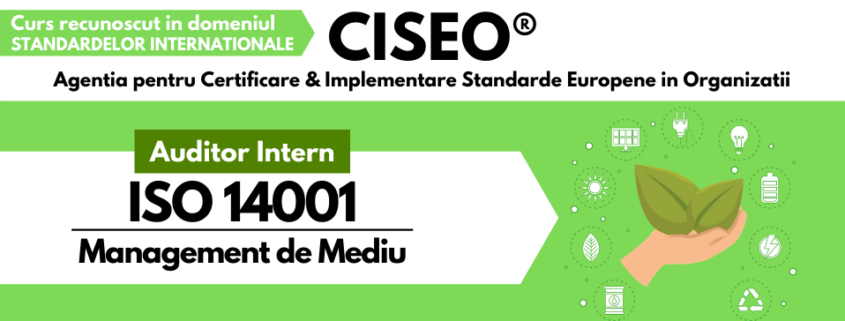 auditor intern ISO 14001