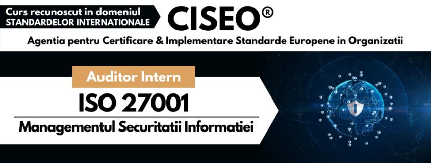 auditor intern ISO 27001