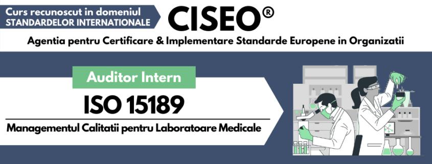 auditor intern ISO 15189