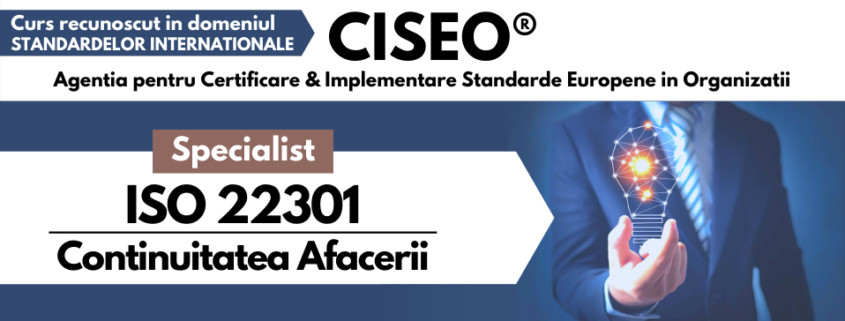 specialist iso 22301
